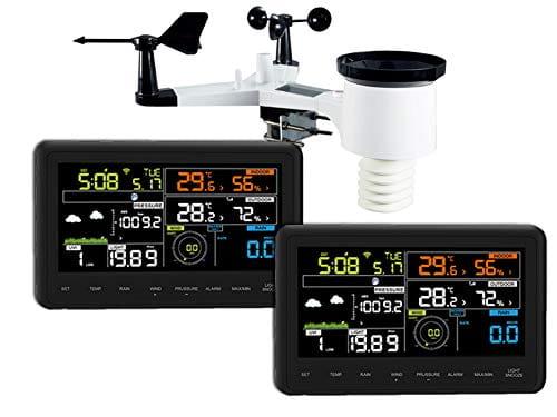 estación meteorológica froggit wh3000 a internet wi fi app