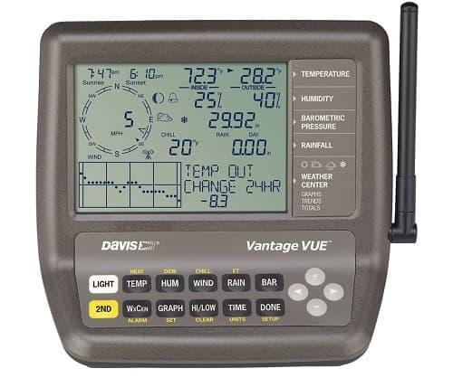 estacion meteorologica profesional completa Davis Vantage Vue prec
