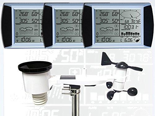 estacion meteorologica profesional froggit wh1080 solar