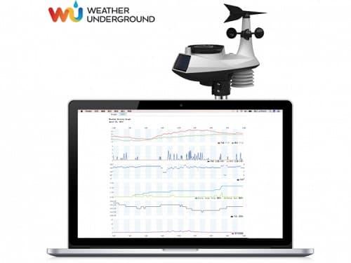 estacion meteorologica profesional wifi Froggit WH6000
